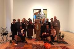 UWC Art IG tour on Nov 13 to the Wexner to see a life long development of a living artist, Mickalene Thomas' Art.